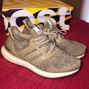 Gently used limited edition ultra boosts!